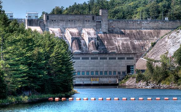 Hydro dam In the Ottawa,Valley